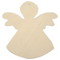 Decorate your Wooden Angel, 6pcs.