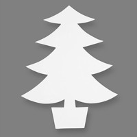 Craft Christmas trees, 25 psc
