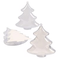 Decoration Christmas trees, 5 psc