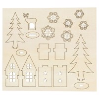 Create and decorate your Christmas Decoration