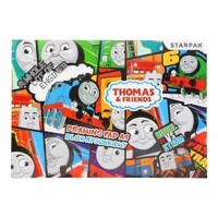 Thomas the Train Drawing Block A4