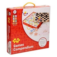 Wooden Board Games, 4in1