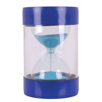 Stool with Hourglass Blue - 5 minutes