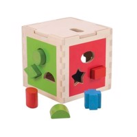 Wooden mold cube, 10 psc
