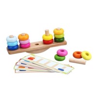 Classic World Wooden Balance Stacking Game, 26dlg.