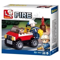 Sluban Fire Department Jeep