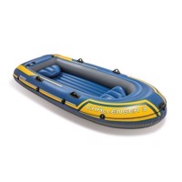 Intex Challenger 3 Inflatable Boat with Pump and Paddles
