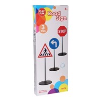 Traffic signs, 3 psc
