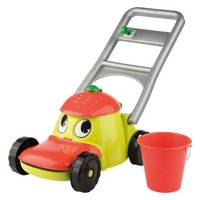 Lawn mower with bucket