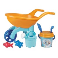 Wheelbarrow with Strandset Underwater World