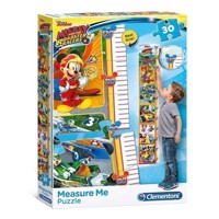 Clementoni Measuring Tape Puzzle Mickey Roadster Racers, 30pcs.