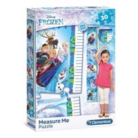 Clementoni Measuring Tape Puzzle Disney Frozen, 30st.