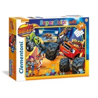 Clementoni Maxi Puzzle Blaze and the Monster wheels, 24st.