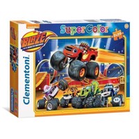 Clementoni Puzzle Blaze and the Monster wheels, 2x20st.