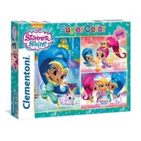 Clementoni Puzzle Shimmer & Shine, 3x48st.