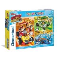 Clementoni Puzzle Mickey Roadster Racers, 3x48st.