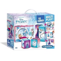 Clementoni Puzzle Blocks Disney Frozen, 12st.