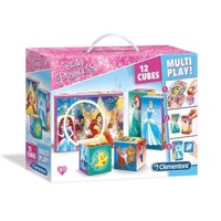 Clementoni Puzzle Blocks Disney Princess, 12st.