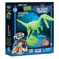 Geoworld Glow in the Dark Building set - Velociraptor