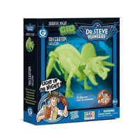 Geoworld Glow in the Dark Building Set - Triceratops