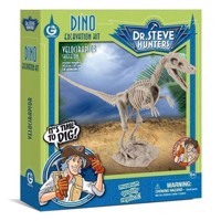 Geoworld Dino Extract Kit - Velociraptor Skeleton