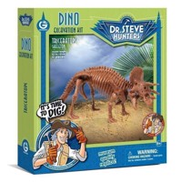 Geoworld Dino Extract Kit - Triceratops Skeleton