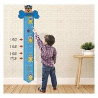 Wall sticker Paw Patrol Growth Chart
