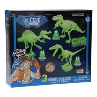Geoworld Jurassic Night Building Set - Glow in the Dark Dinosaurus