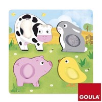 Goula puzzel Farm animals