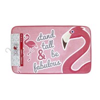 Fleece Dress Flamingo, 75x45cm