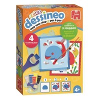 Dessineo Color Painting with Templates - Animals