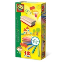 SES Color crayons with Wiper