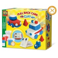 SES Clay - Pull Back Cars