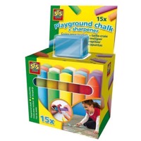 SES sidewalk chalk with Sharpener