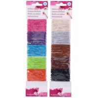 Colored Craft Elastics, Set of 6
