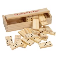 Blank Wooden Domino