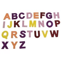 Craft Stickers Letters, 130st.