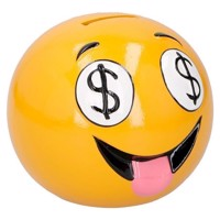 Money box Laugh face Dollar Eyes