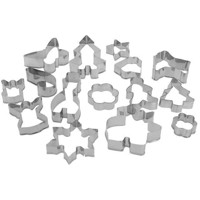 Protrusion set Christmas RVS, 15 psc