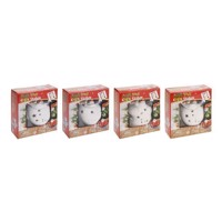 Christmas painting set with LED, 8 psc