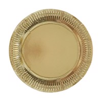Gold Plates, 8st.