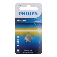 Philips Alkaline button cell battery LR44 / 76A