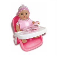Baby Rose Baby Set 3in1 with Doll, 30cm