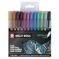 Sakura Gelly Rolls Metallic, 12pcs.