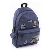 Skooter Mask Off Backpack Blue