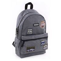 Skooter Mask Off Backpack Gray