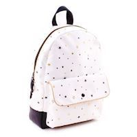 Kidzroom Black & Gold Backpack Stars