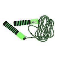 Skipping rope adjustable with counter