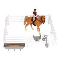 Play set Horse, Rider with Accessories