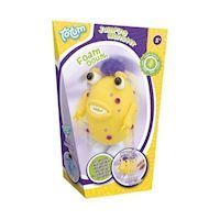 Totum Foam Clay Make a Funny Jumping Monster Yellow